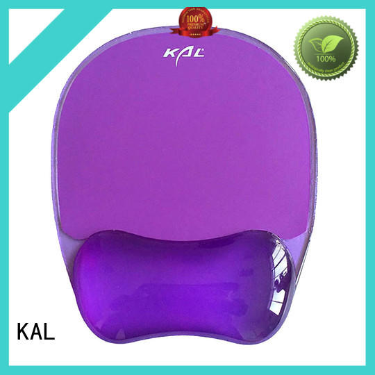 KAL solid mesh mouse pad with wrist support bulk production for mouse