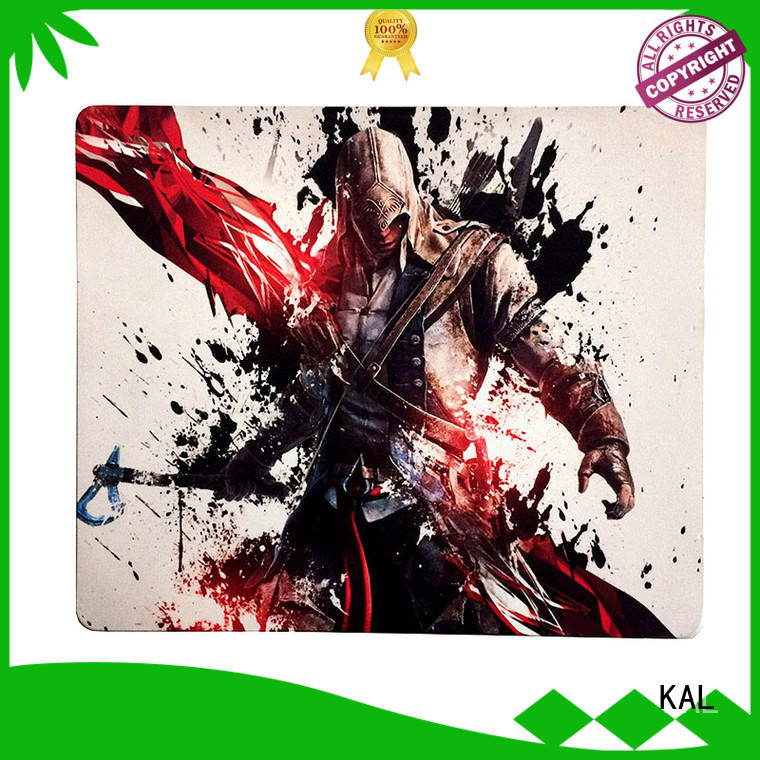 KAL gaming mouse pad sheet rubber get quote for office equipment