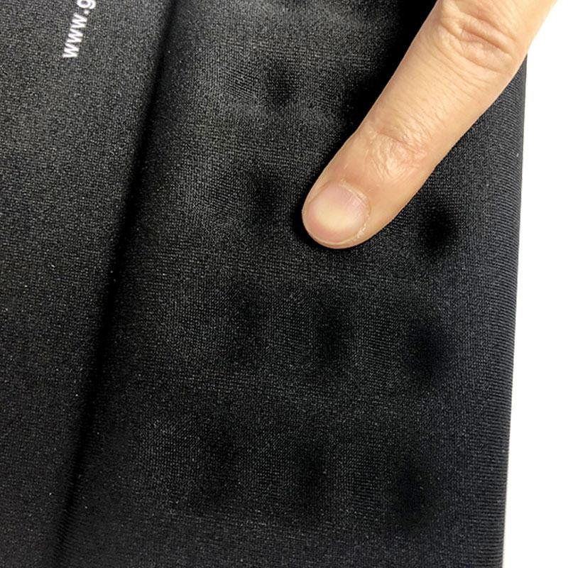 Office ergonomic Mouse Pad with Gel Wrist Pad, black