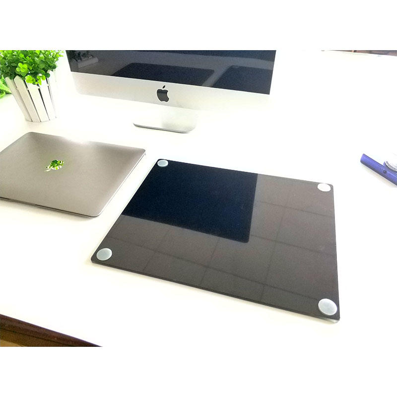 Glass Mouse Pad - Stylish, Durable, Office Accessory