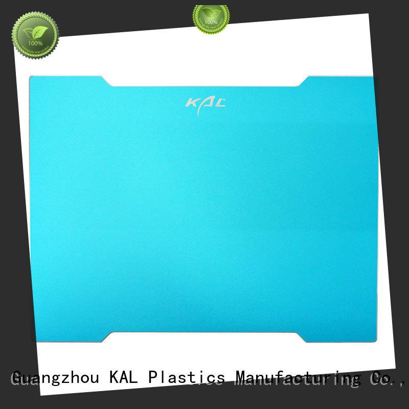 KAL mousepad aluminium mouse mat free sample for hands