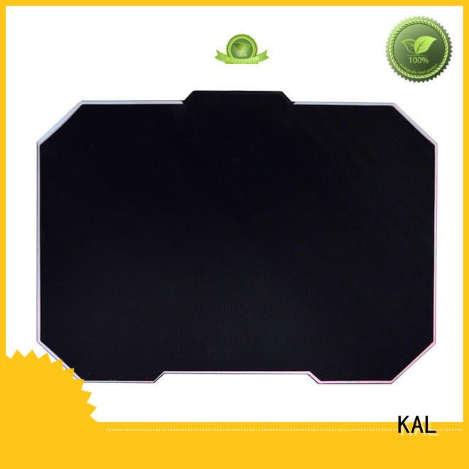 rubber base mouse KAL Brand aluminum mouse pads