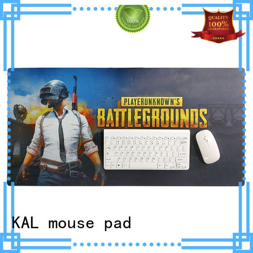 rubber oversized mouse pad water resistant KAL company