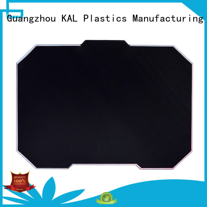 KAL high-quality aluminium mouse mat supplier for mouse