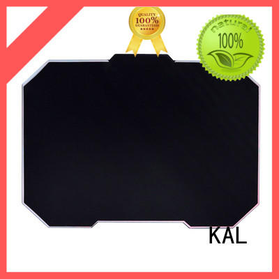 KAL portable aluminum mouse pads for wholesale for hands