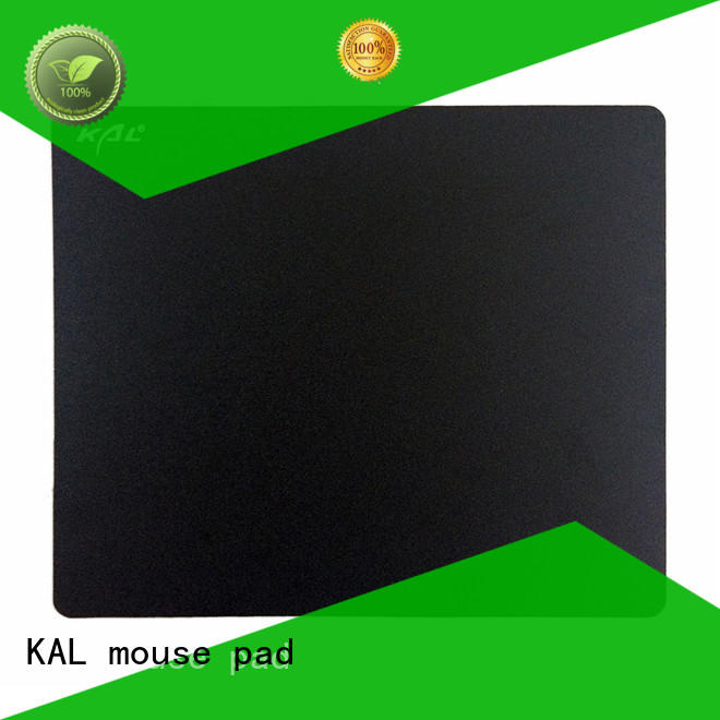blue surface silent mouse pad sheet rubber KAL
