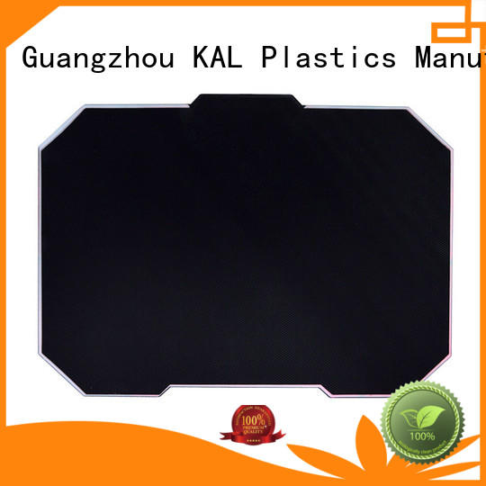 Breathable rgb mouse pad hard for wholesale for gamer