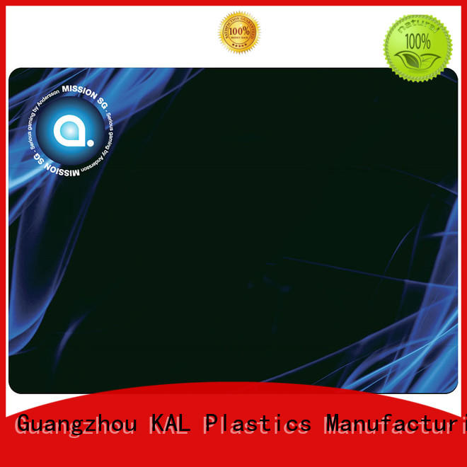 KAL mouse mouse pad rubber for wholesale for office equipment