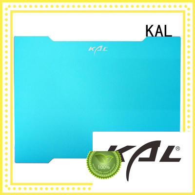 aluminum gaming mouse pad soft rubber base KAL Brand company