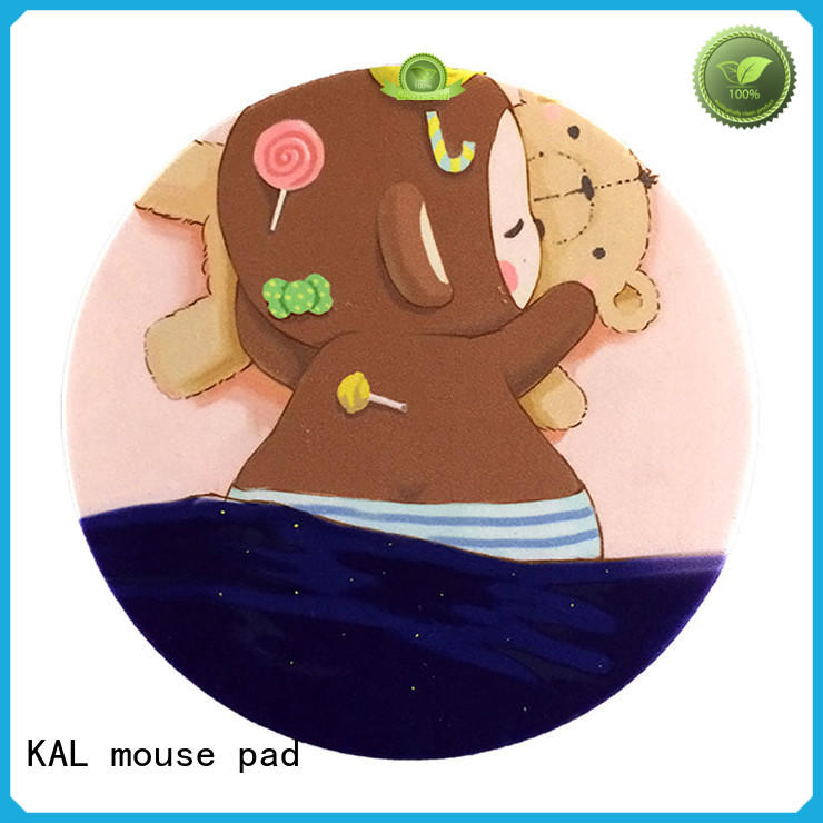 KAL Brand mat customized comfortable personalised mouse mat
