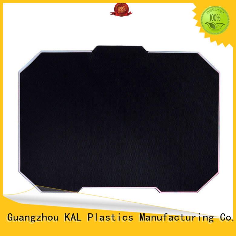 strong aluminium mouse mat customization