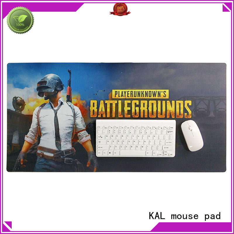 oversized mouse pad water resistant KAL Brand long mouse pad