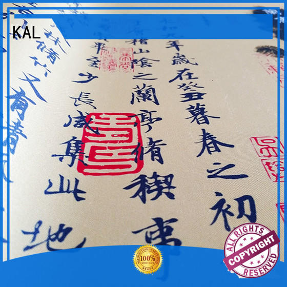 GEL material ergonomic fabric top custom desk pad KAL Brand
