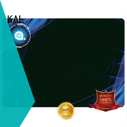 KAL solid mesh mouse pad rubber free sample for office equipment