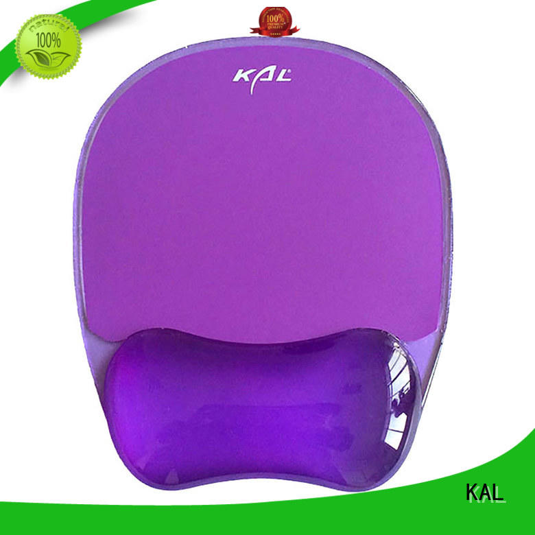KAL latest mouse pad with wrist support ODM