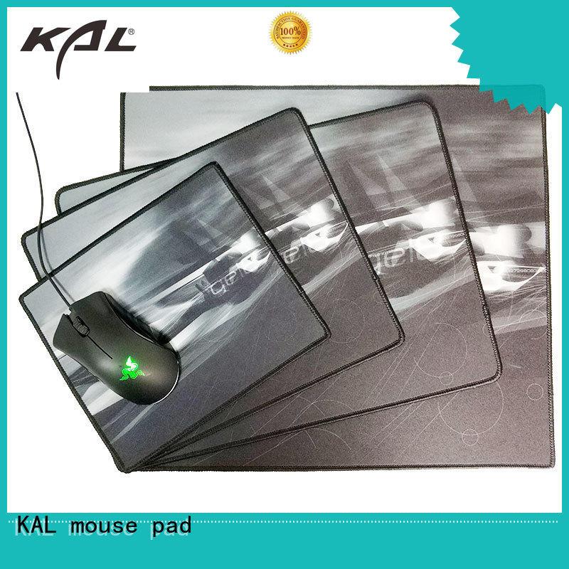 Custom laptop nonslip best gaming mouse pad KAL surface