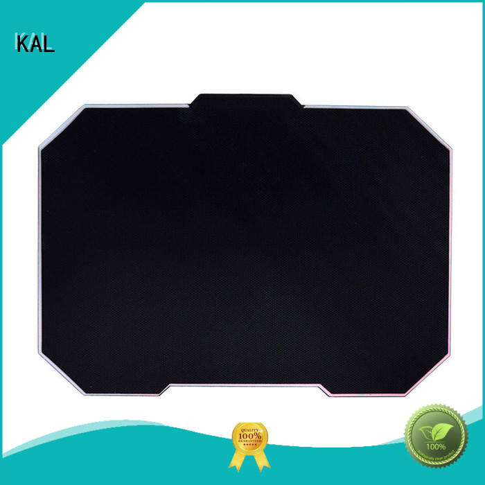 KAL solid mesh led mouse pads get quote for gamer