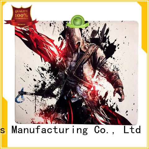 KAL high-quality rubber gaming mouse pad customization for students