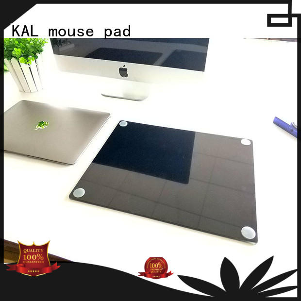 pc rubber glass mouse mat KAL manufacture