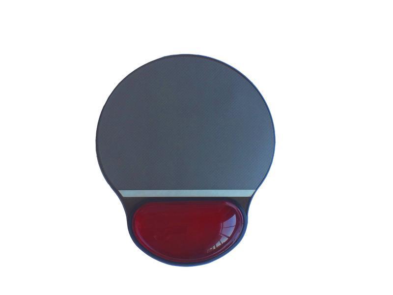 KLH-3018T Transparent PU& rubber wrist mouse pad