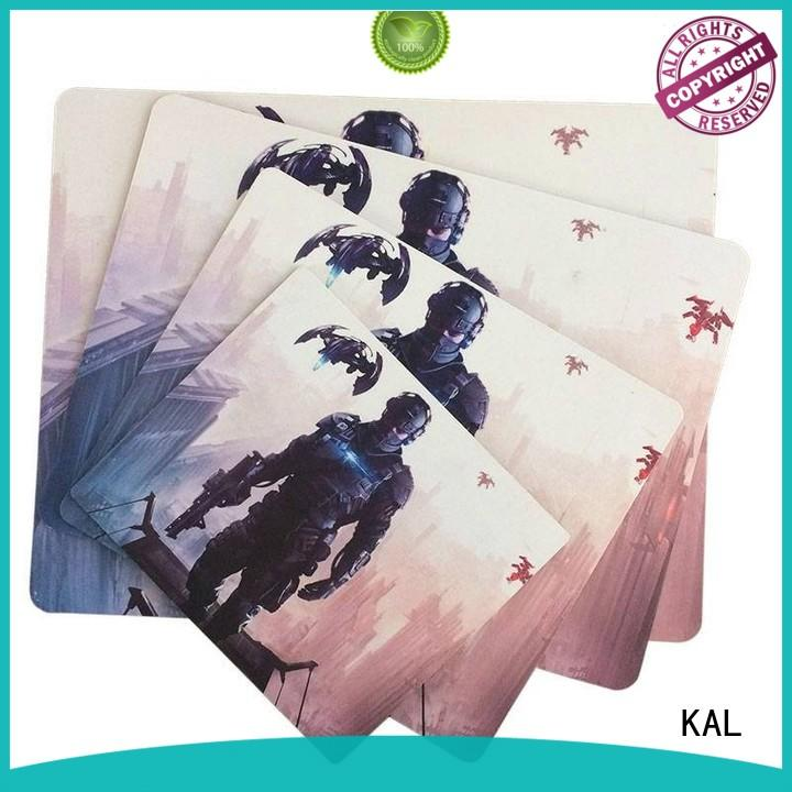 KAL Breathable wrist rest mouse pads OEM home