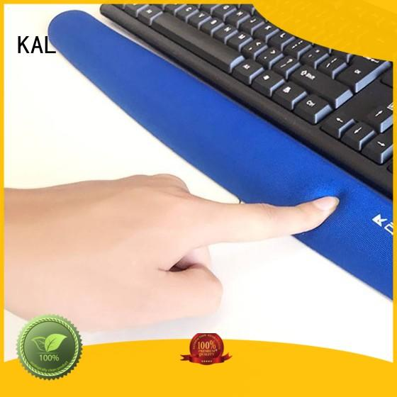 KAL solid mesh Memory foam keyboard wrist rest support for wholesale for mouse