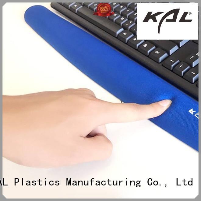funky Memory foam keyboard wrist rest support pu supplier for worker
