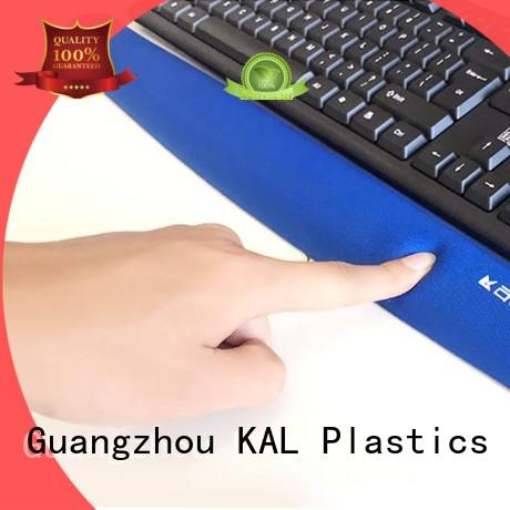 KAL high-quality Memory foam keyboard wrist rest support customization for mouse