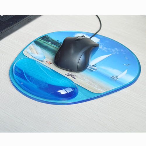 Custom office clear mouse mat wrist KAL