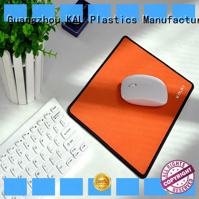 KAL happy custom mouse mats OEM job
