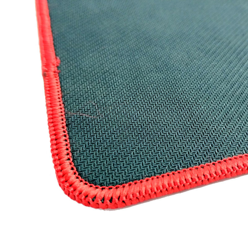 Standard Size Computer Mouse Pad with Stitched Edges Color Premium-Textured Mouse Mat Pad Non-Slip Rubber Base Mouse Pad