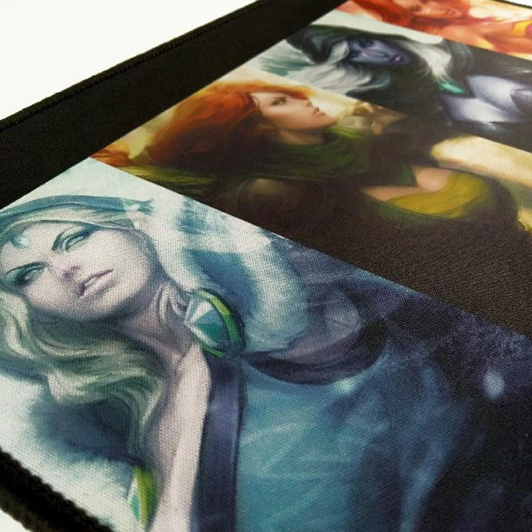 Wholesale and Promotion Custom Advertising Large Size Protector Laptop Desk Pads Non-slip Art Print Computer Mouse Mat