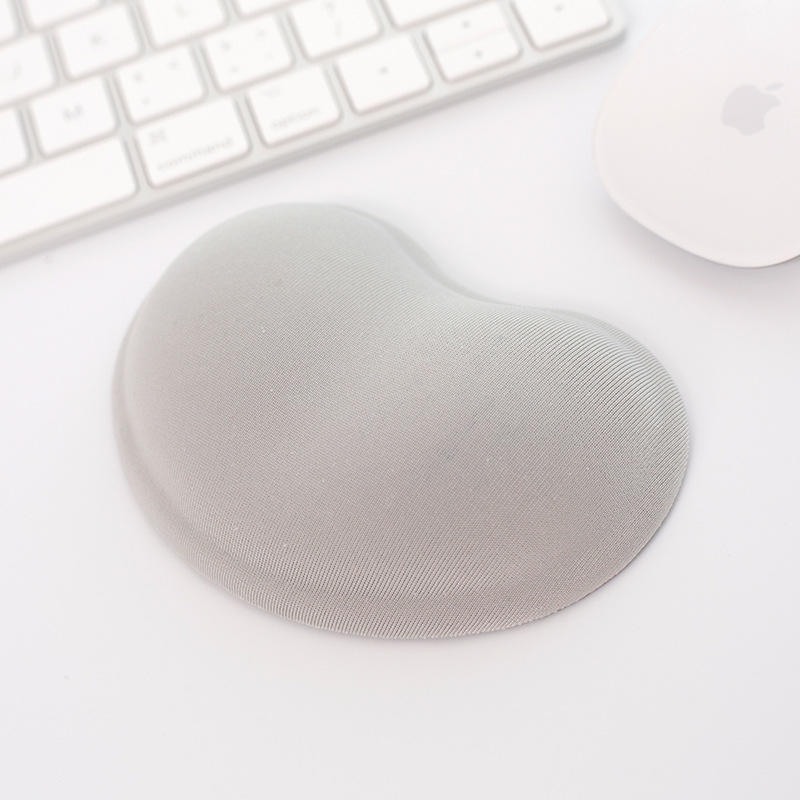 Soft Colorful cloth gel hand pillow for using mouse