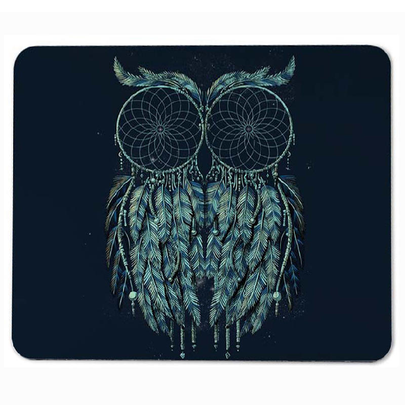 Animal Small Mouse Pad with Slogen PC Computer Mat Size for Gaming Mousepads
