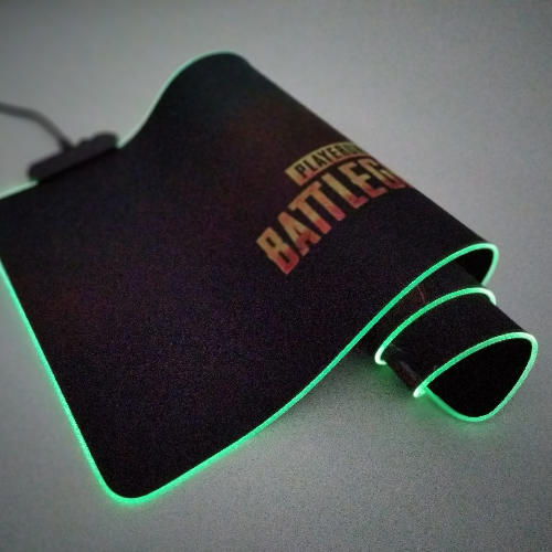 Hot RGB gaming mouse pad soft RGB gaming mouse pad with high quality rubber base