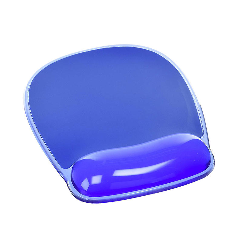 Best Selling Purple Ergonomic jelly Promotional gel wrist rest Mouse Pad
