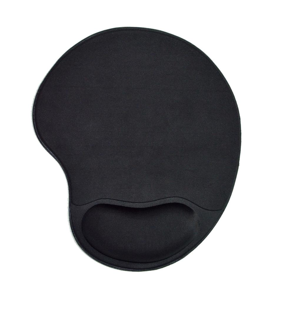 New product - Foam wrist rest mouse pad with anti-slip SBR bottom comfortable foam hand pillow mouse pad