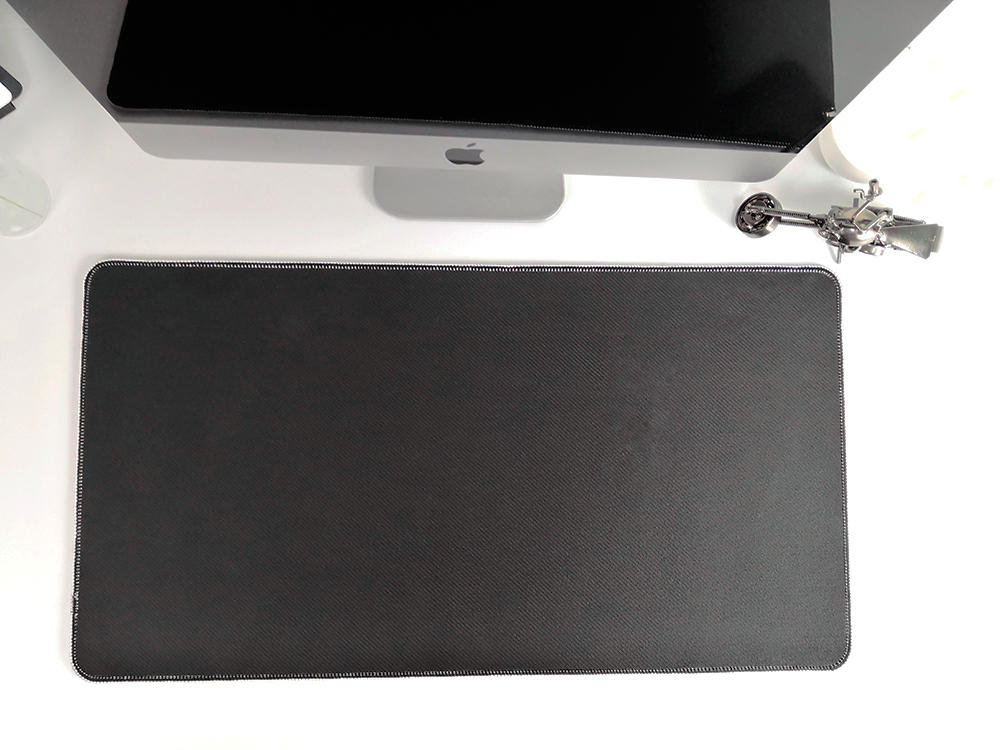 2019 New fresh colour desk mat girls like decoration desk top mouse pad plain fresh coloured mouse pad