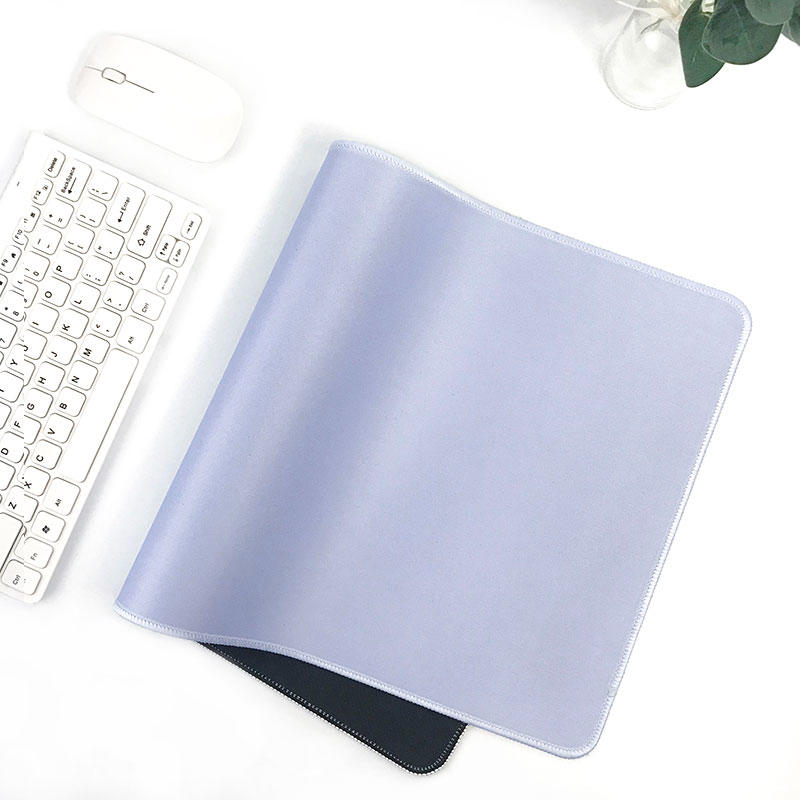 2019 New fresh colour desk mat girls like decoration desk top mouse pad plain fresh coloured mouse pad