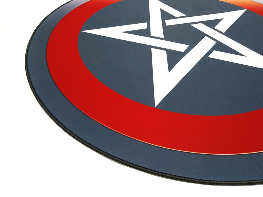 New Products Natural Rubber Bottom Smooth Speed Surface E-Sport Gaming Chair Floor Mat