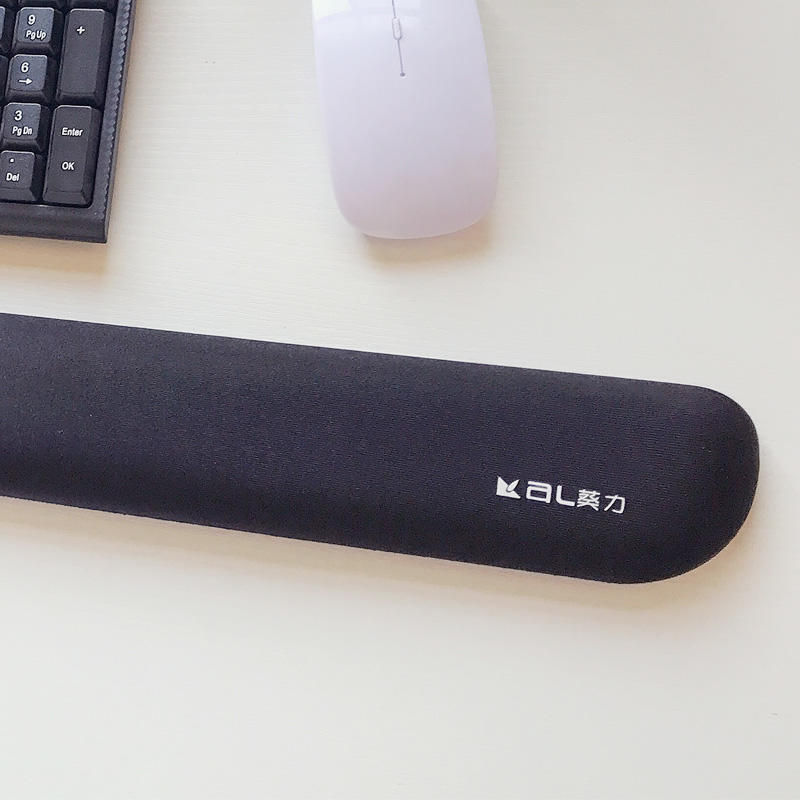 longer soft keyboard memory foam filled in ergonomic mouse keyboard cushion