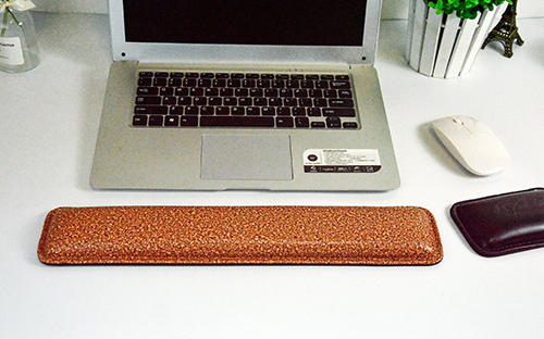 New style ergonomic custom pattern computer keyboard pad with armrest wrist pad manufacturer price in china