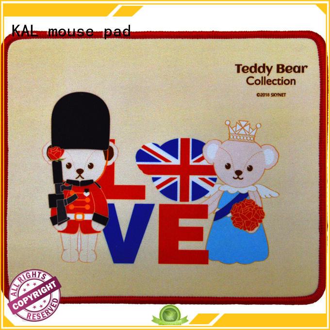 KAL Brand stri color rubber mouse pad diabolik