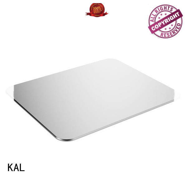 KAL black aluminum mouse pads bulk production for hands