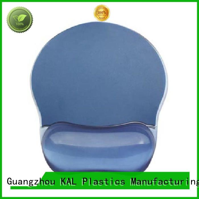 KAL Breathable mouse pad with wrist rest for wholesale for hands support