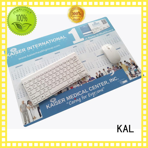 KAL latest hard mouse mat ODM for mouse
