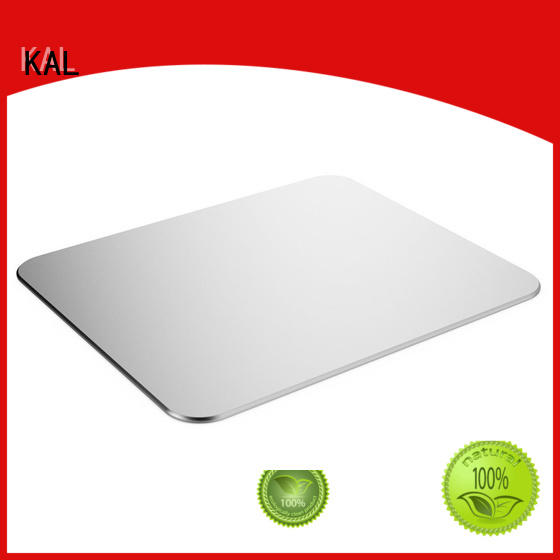 KAL quality aluminium mouse mat bulk production for hands