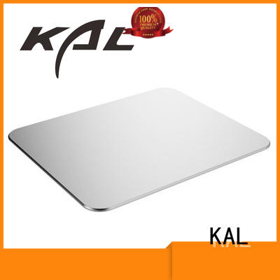 KAL mouse aluminium mouse mat ODM for worker