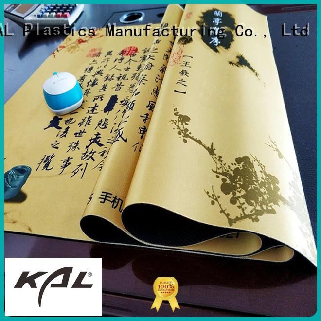 KAL at discount soft mouse mat bulk production for kicten