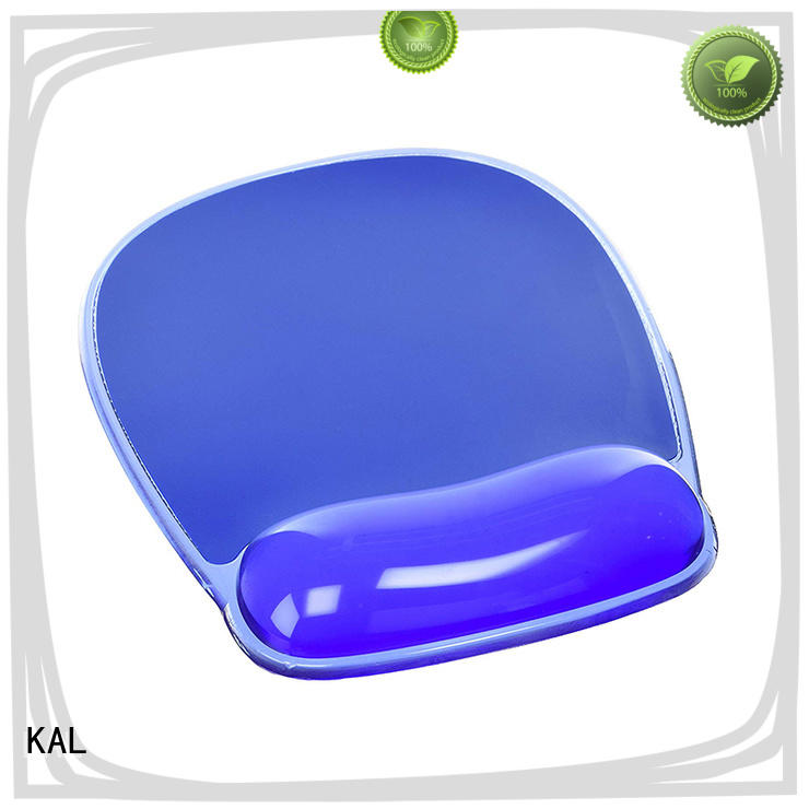 KAL portable mouse pad with wrist support supplier for hands